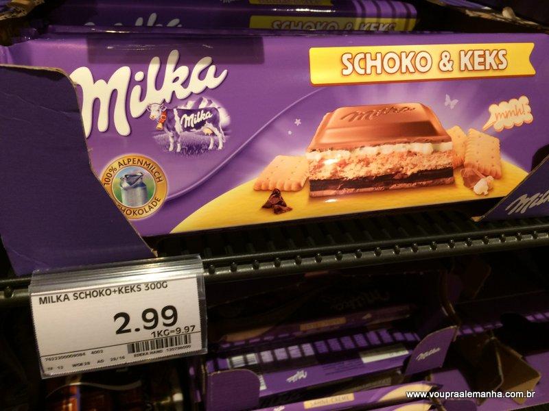 Barra Milka 300g (sabores variados): €2,99