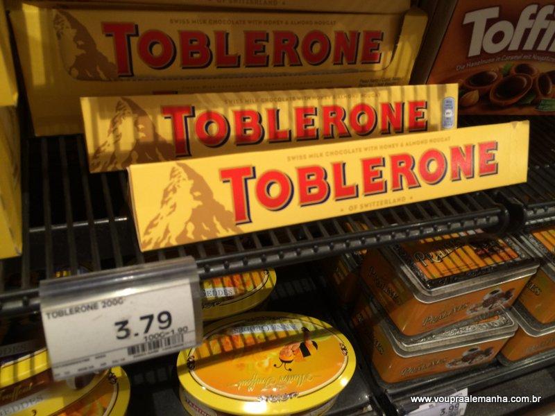 Toblerone 300g: €3,79