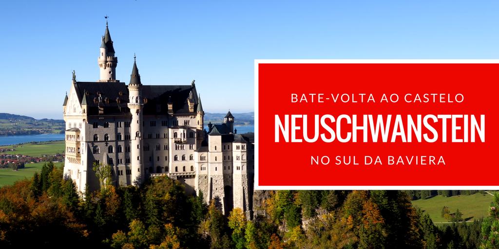Bate-volta de Munique - Castelo Neuschwanstein