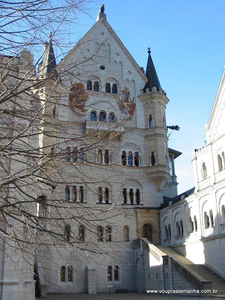 Parte da fachada do Castelo