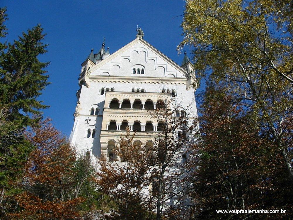 Sacadas do Castelo Neuschwanstein