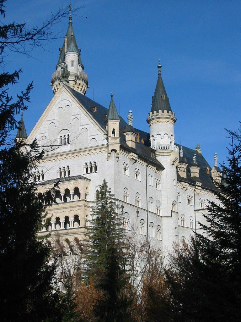 O Castelo é lindo de todos os ângulos!