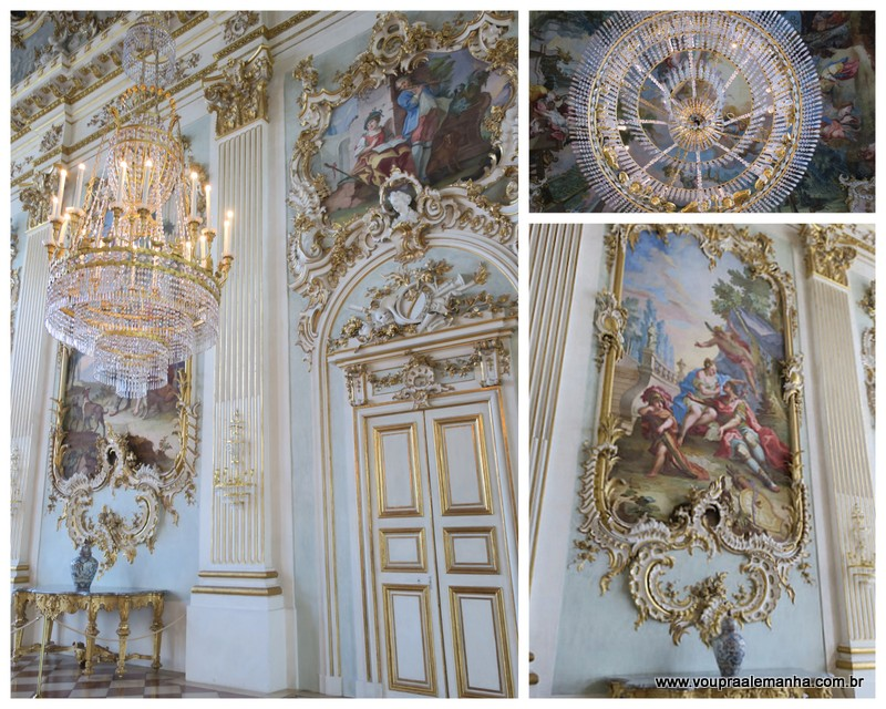 Detalhes belíssimos do Grande Salão
