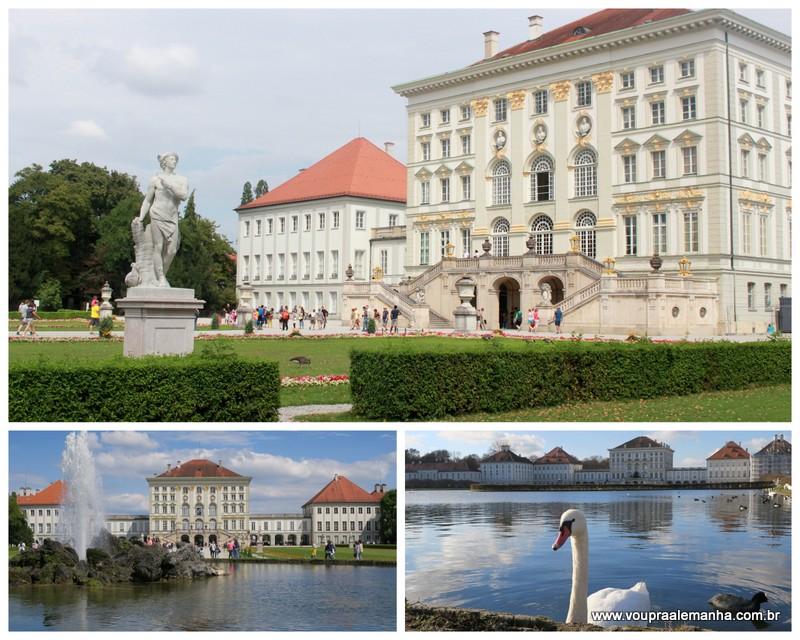 Fachada do Palácioo Nymphenburg